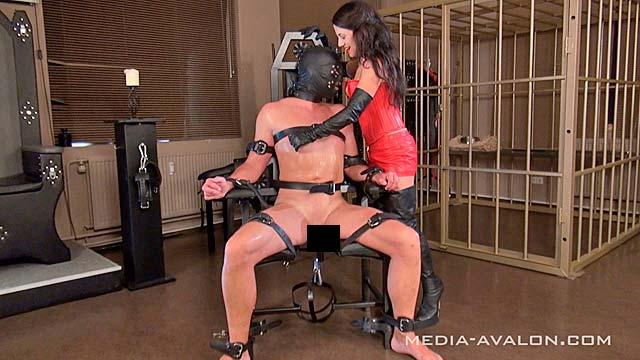 Punished on the chair!
